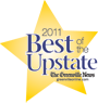 Best of the Upstate Award given to The Holland Eye Center, Greenville, South Carolina